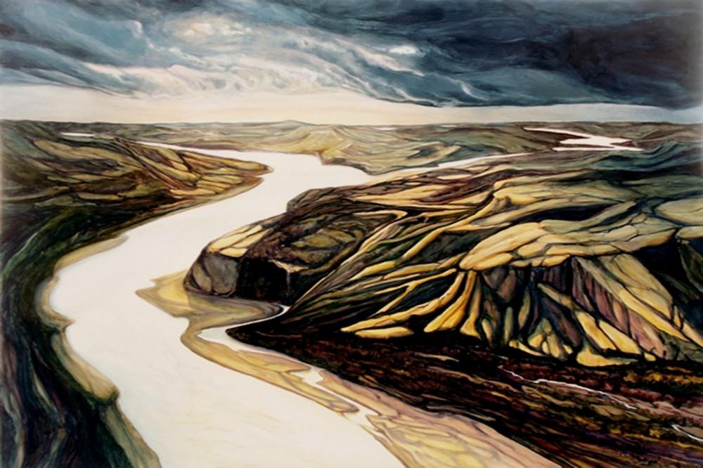 Tundra Tidal Land 40 x 60 oil sold