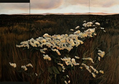 On Prairie Sea Triptych oil sold