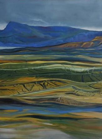 Foot Hills 36 x 48 oil