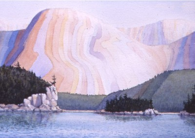 Mountain Mindscape Killarney 26 x 14 w/c